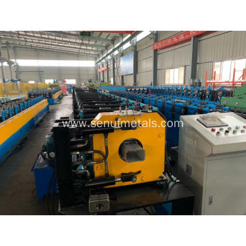 Forming and bending integrated downpipe forming machine