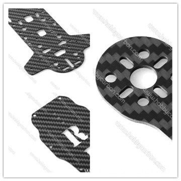 OEM custom finely processed carbon fiber drone frames