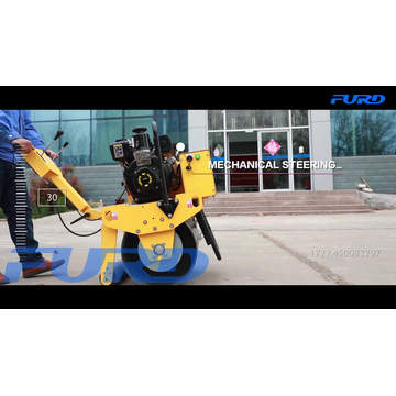 Single Drum Hand Vibratory Roller for Construction Work