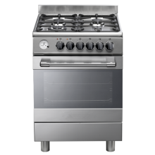 4 Burner Kitchens with Electric Oven in Italian
