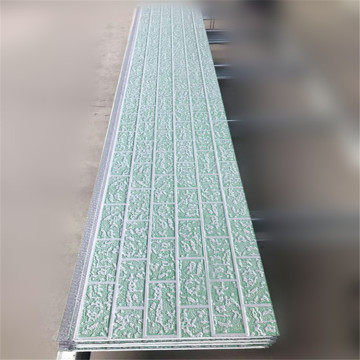 Cadding panel for exterior walls decorative