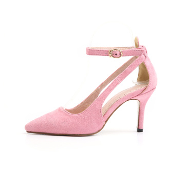 2019 Pointed Toe Slender Heel Pumps