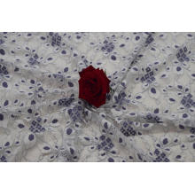 Nylon Cotton Rayon Cord Lace Fabric