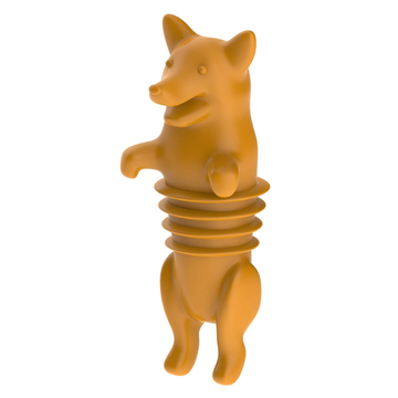 Custom Corki Animal Silicone Bottles Stoppers Sealers