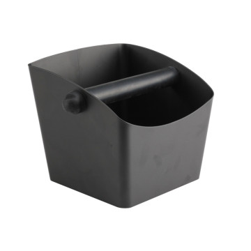 Stainless steel coffee ground storage box