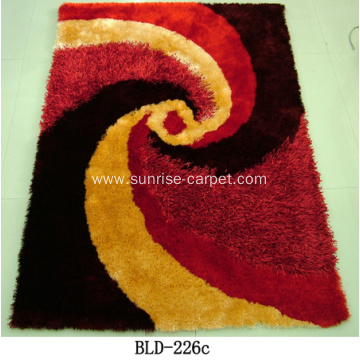 Polyester Shaggy with Design Carpet Rug