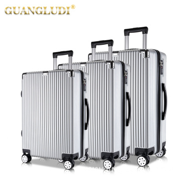 Lightweight abs trolley luggage set