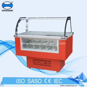 Display Table Top Showcase Ice Cream Chiller freezer