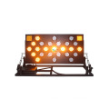Folding stand aluminum led traffic arrow board