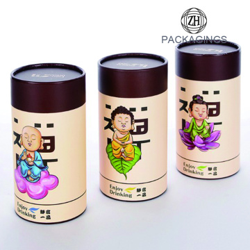 Paper tube packaging/paper tube for tea package