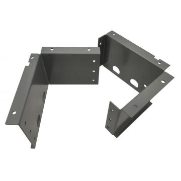 Powder Coated Sheet Metal Frame CNC Machining Services