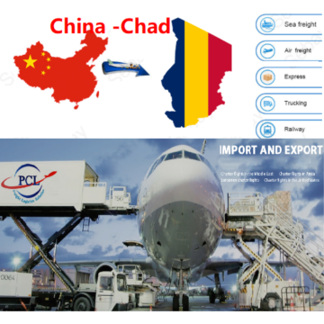 airfreight shipping agent cost to Chad from Shenzhen