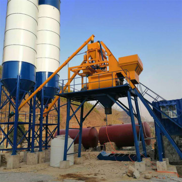 Commercial automatic 35m3 concrete mixing plant equipment