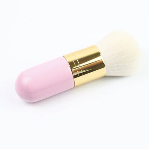 Pink Kakubi Lttle Powder Brush Cepillo simple