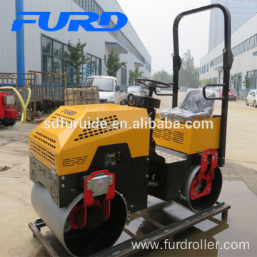 New Condition Best Sale Construction Equipment 1 Ton Roller (FYL-880)