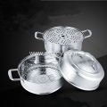 Stainless Steel Multilayer Non magnetic Thicken Steamer Pot