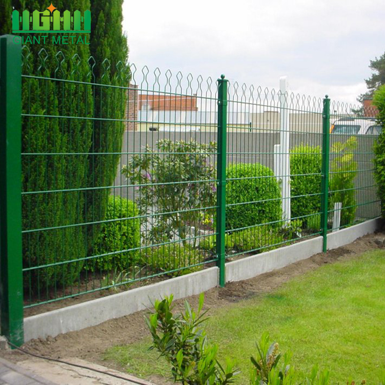 8/6/8 or 6/5/6 Double Horizontal Wire Prestige Fence