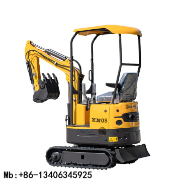 mini excavator 1ton without cab for sale