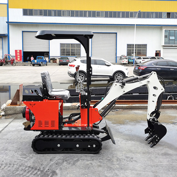Chinese mini excavator for construction works with bucket auger parts so on