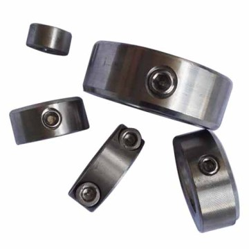 Zinc Plated carbon Steel Set Screw Shaft Collars
