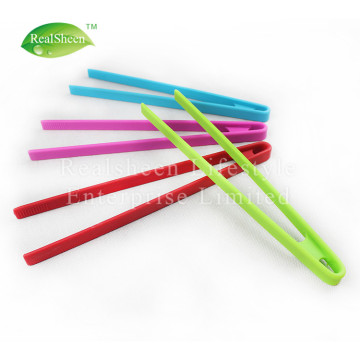Heat Resistant Silicone Kitchen Tweezer Tongs
