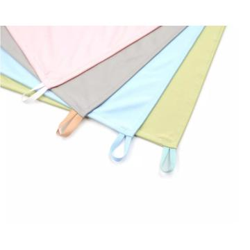 Multicolor Option microfiber LCD cleaning looped cloth