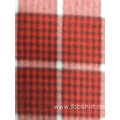 Polar Fleece Print Plaid Fabric