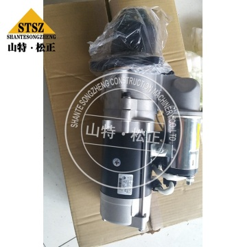 Komatsu Engine Parts SA6D125 Starting Motor 600-813-8320