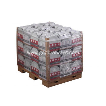 16 Pieces White Porcelain Dinner Set Shrink Packing Pallet Packing