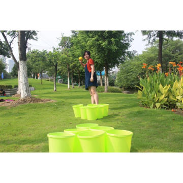 Yard Games Giant Yard Pong with Durable Buckets