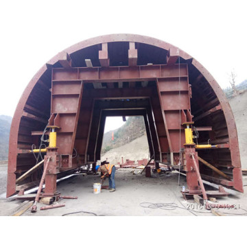 Inclined Shaft Tunnel Trolley for Concrete Construction