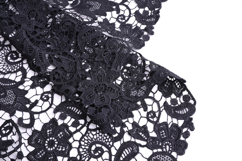 Flower Chemical Lace Fabric