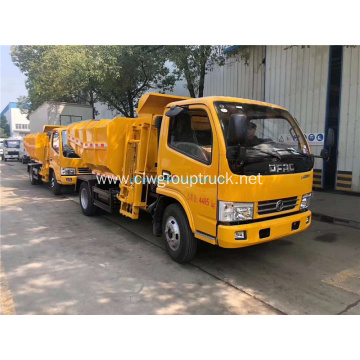 Cheap Dongfeng 140 Silt transport vehicle