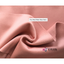 Fashionable Wavy Texture 100% Wool Fabric