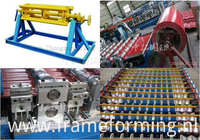 Roofing Corrugated Galvanized Sheet Roll Forming