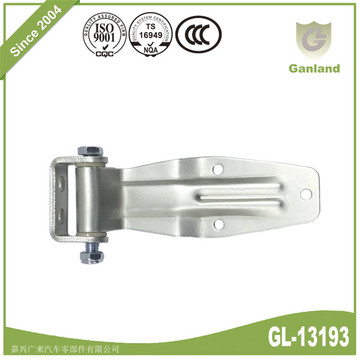 Truck trailer parts U bracket Curving door Hinges