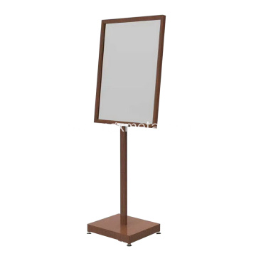 Bronze Color A1 Floor Poster Stand