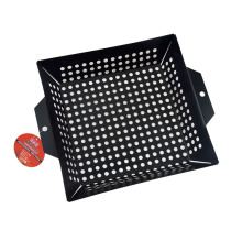 non-stick vegetable basket for grilling