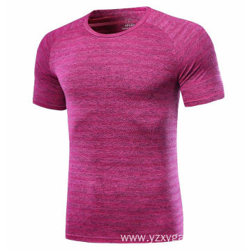 Rose color fast dry jogging shirt