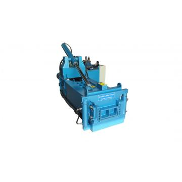 Horizontal metal baler machine