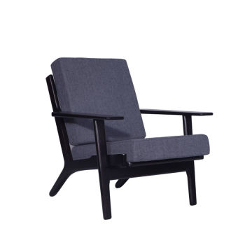 Comfy Hans Wegner Plank Arm Sofa Chair