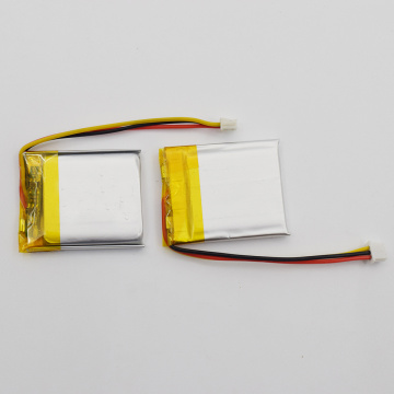 3.7v li-po lithium rechargeable battery for battery pack