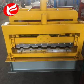 Roofing glazed tiles roll forming making machine