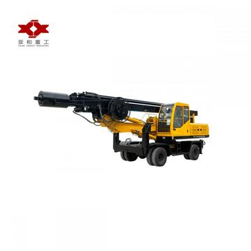 Wheeled pile drivers are on sale
