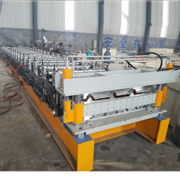 Automatic IBR Sheet Double Roll Forming Machine