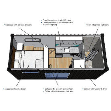 Modular Tiny Home Container Type