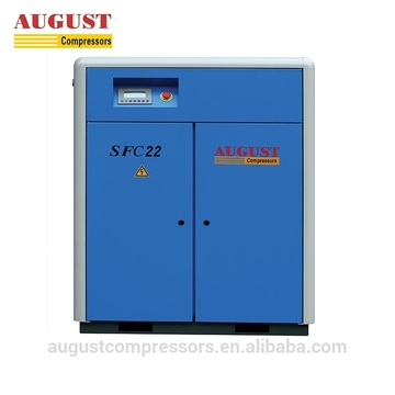 22KW 30HP Stationary Air Cooled Screw Air Compressor