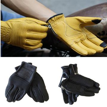 NEW fashion casual uglyBROS leather gloves motorcycle protection gloves moto riding gloves moto gloves Unisex warm gloves