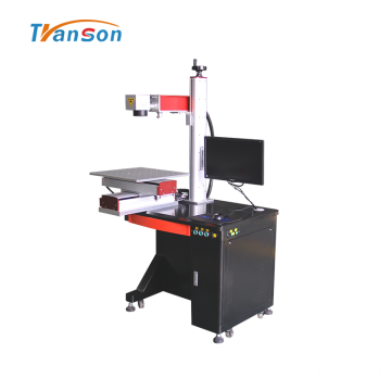 Desktop Fiber Laser Marking Machine with Slider Worktable
