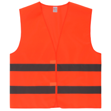 Knitted tricot good quality reflective warning vest